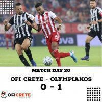 OFI Crete - Olympiakos 0-1 (video)