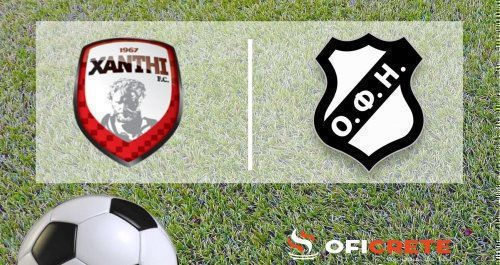 Xanthi FC - OFI Crete 3-0 (video)